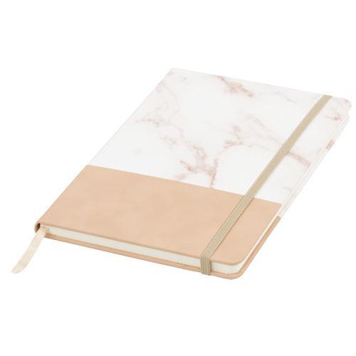 Zweifarbiges A5 Marmor-Notizbuch