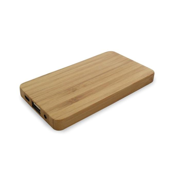 Powerbank Wood