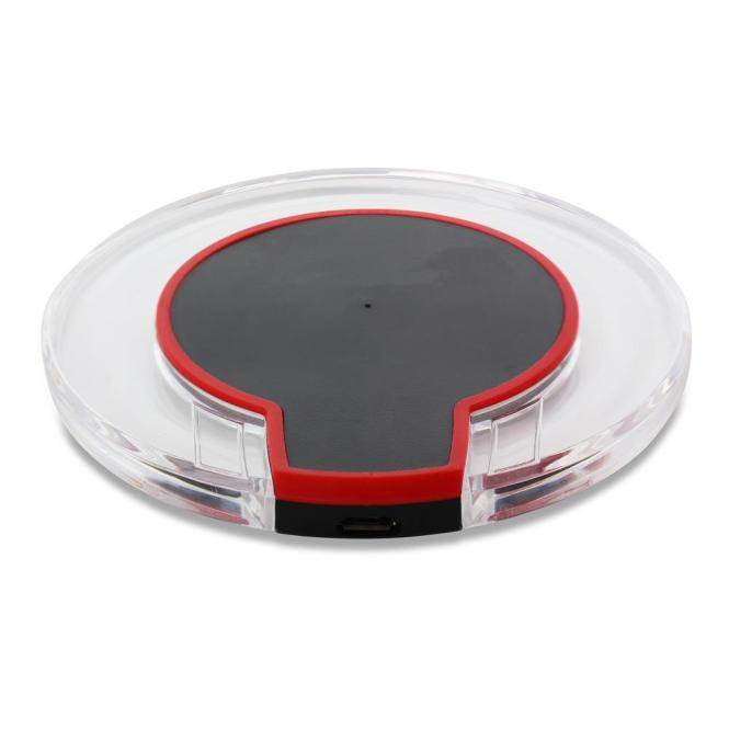 Wireless Charger Glassy Round