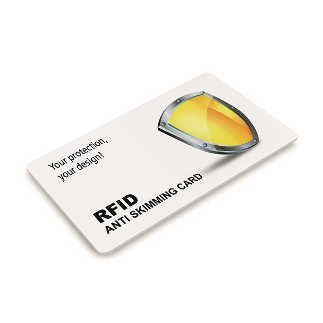 RFID Anti Skimming Card inkl. Logo