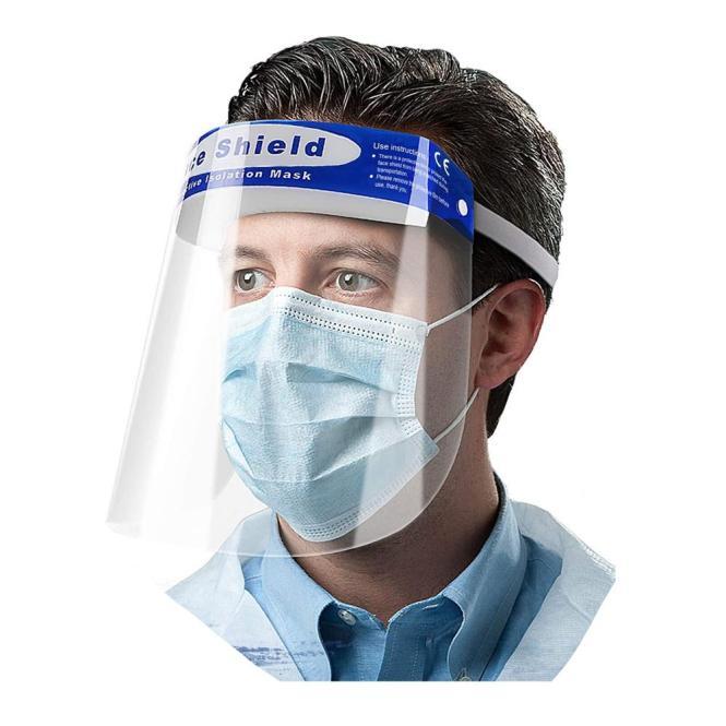 Transparenter Gesichtsschutz