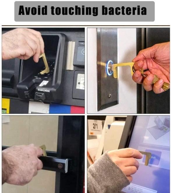 Touch Free Türöffner