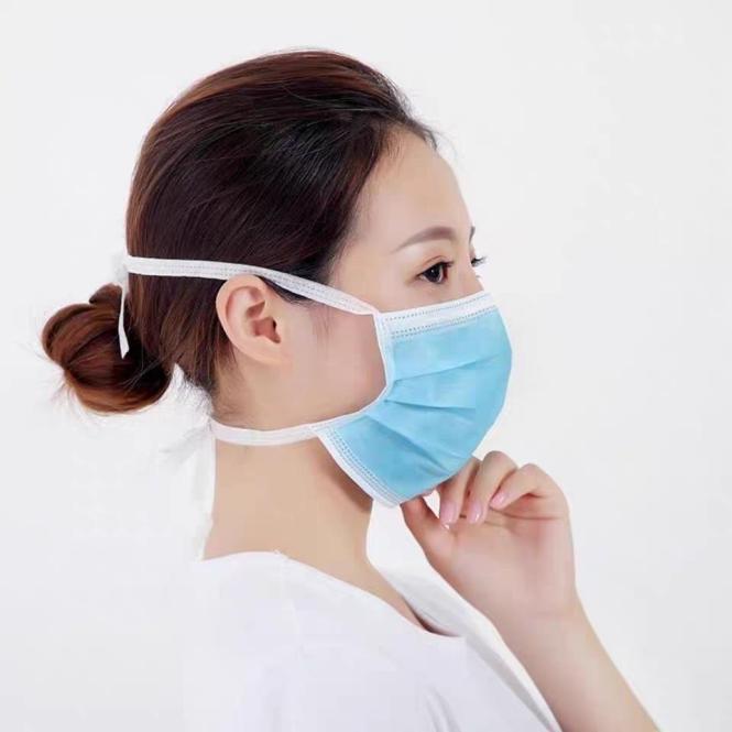 Einmal-Atemschutzmaske zum binden