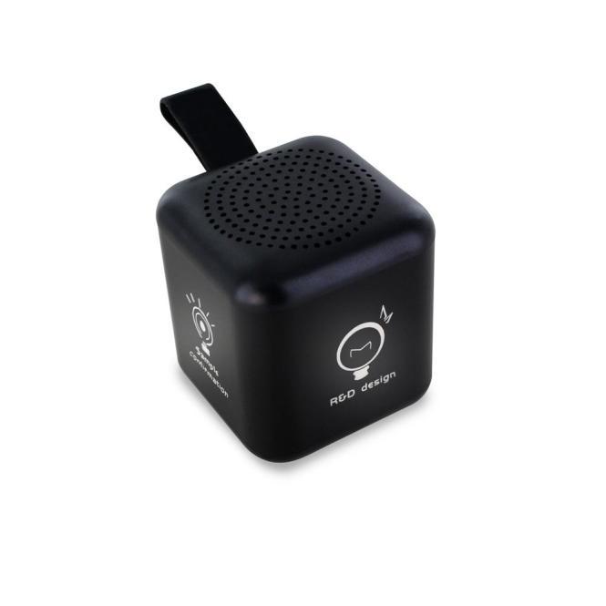 Mini BT Speaker mit dreiseitigem LED Logo