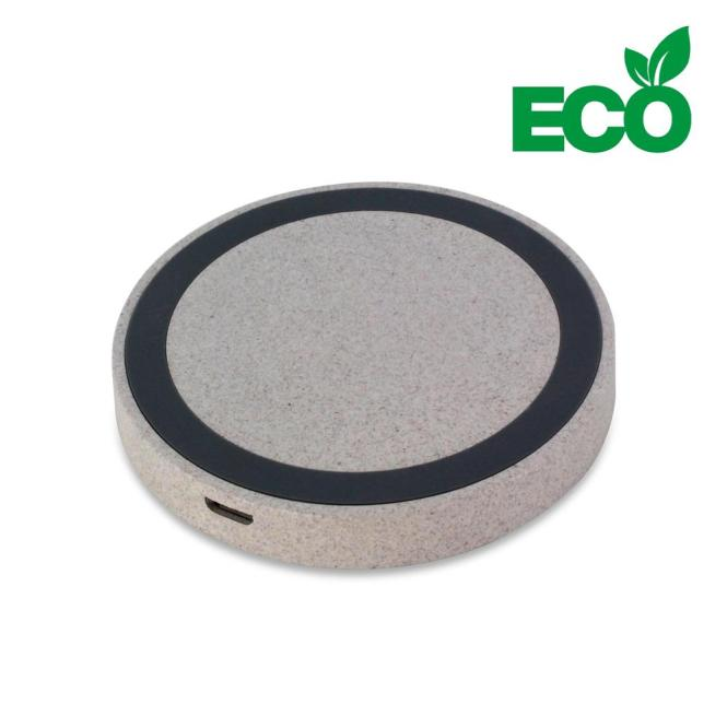 Wireless charger round ECO