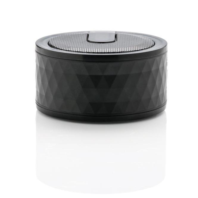 geometrischer Bluetooth Lautsprecher, schwarz
