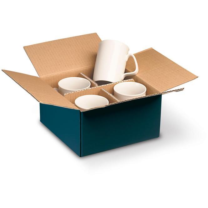 Verpackung für 4 Tassen