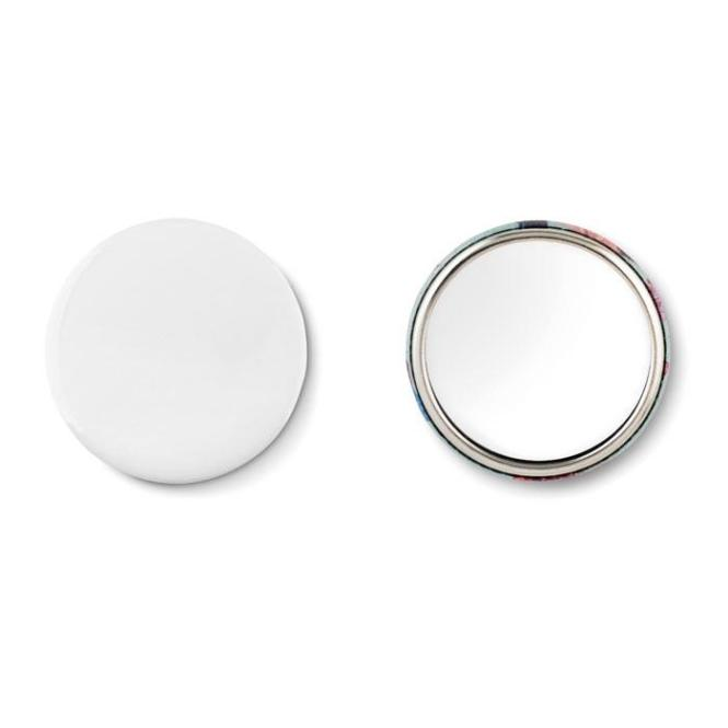MIRROR Badge mit Make-up Spiegel