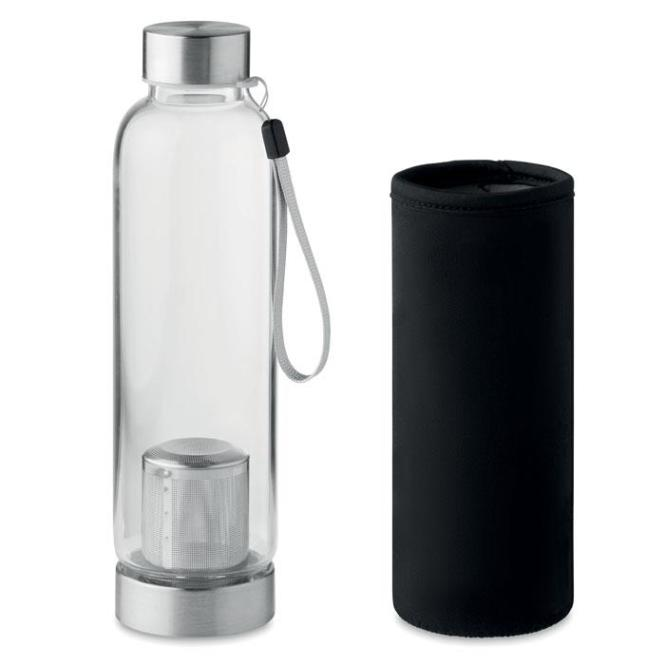 UTAH TEA Einwandige Trinkflasche Glas
