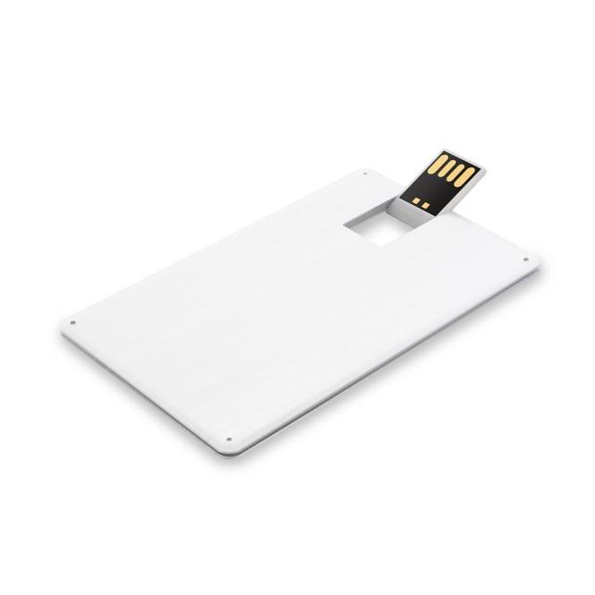 USB Stick Karte Metall 1