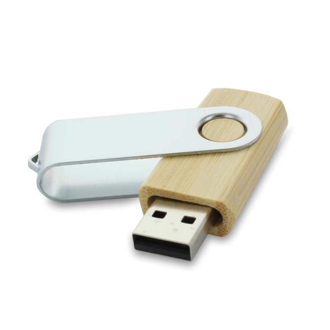 USB Stick Clip Holz