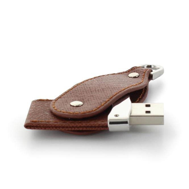 USB Stick Leather Hamburg