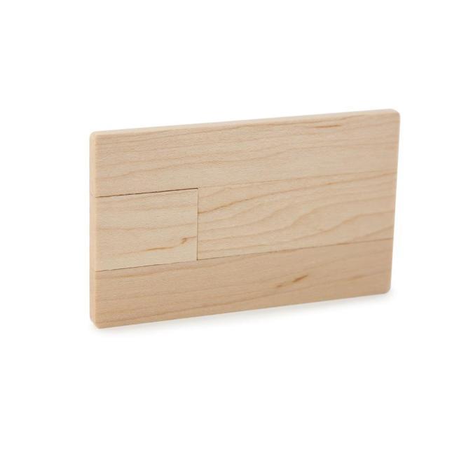 USB Stick Photocard Wood