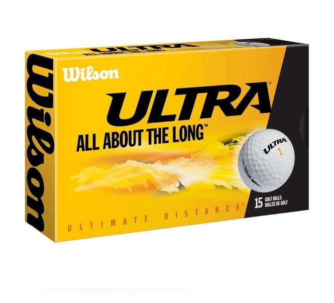 Golfball Ultra Ultimate Distance